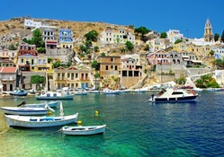 greek coastal village