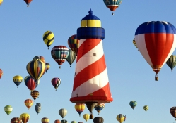 Hot Air Balloon Festival in New Mexico