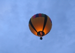 Hot Air Balloon in Summer