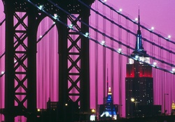 new york, usa, manhattan bridge