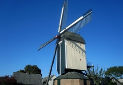 Old windmill from the year 1722