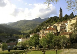 beautiful olargues france