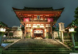 beautiful japanese tample