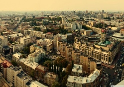 panorama of lovely kiev