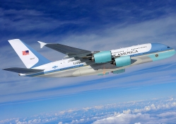 Airbus A380 as Air Force One