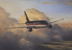 U.S. Airways Airbus A320 Painting