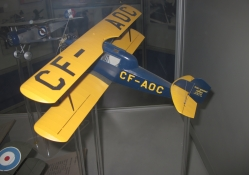 Airplane model at the museum 03