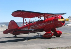 Biplane Shiny Red