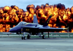 Fire Power of Blue Angel Two