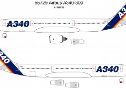 Airbus A340 with A380 Engines