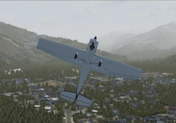 Cessna 152 over Darrington
