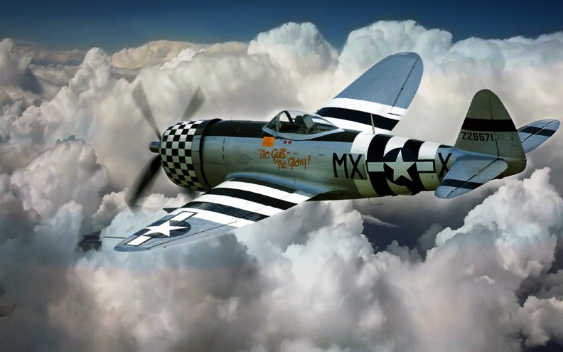 P 47 Thunderbolt Wallpaper Republic P_47 Thunderb...