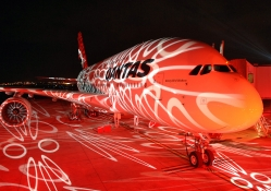 The Airbus Light Show