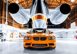 BMW ~ M3 GTS in a Hanger