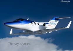 Honda Jet _ The sky is yours.