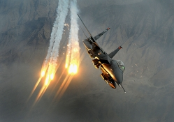 F_15 Eagle Striking