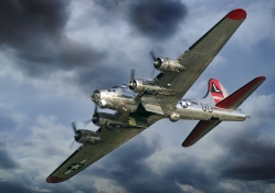 B 17G Flying Fortress Yankee Lady