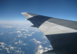 AIRBUS OVER THE CANADIAN ROCKIES