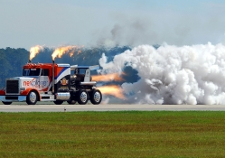 the amazing jet truck shockwave