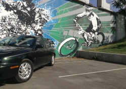 Saturn SL2 with MTB Mural