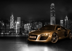 audi at night