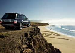 Range rover look the beach
