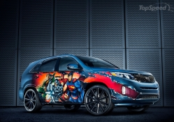 "2013 Kia Sorento ""Justice League"" by West Coast Customs"