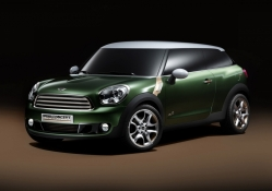mini concept car green