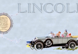 1926 Lincoln Sports touring