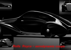 Rolls Royce _ aerodynamic coupe