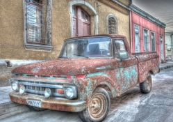 ford150 in chile that can use a paint job hdr