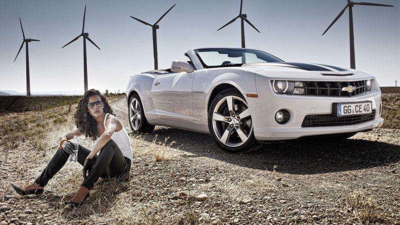 CHEVROLET CAMARO COVERTIBLE  2012