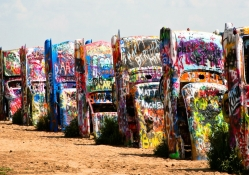 Cadillac Ranch _ Texas, USA