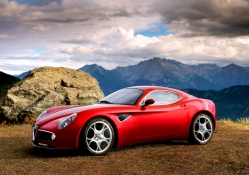 Alfa Romeo _ beautiful in red