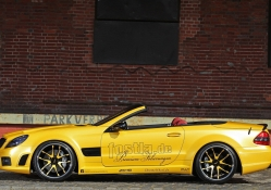 Mercedes Benz SL 55 Liquid Gold