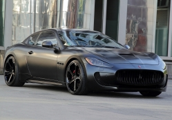 Anderson Germany Maserati GranTurismo S Superior Black Edition