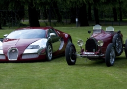 bugatti old and new