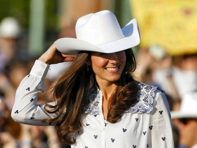 Cowgirl Kate Middleton
