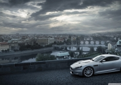 aston martin dbs in florence