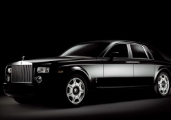 Black & White Rolls Royce