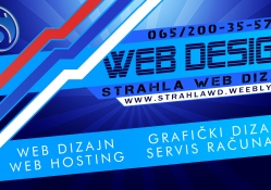 Strahla Web Dizajn Wallpaper