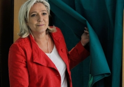 French Marine Le Pen Of Front National