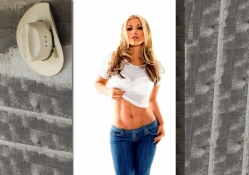 Cowgirl In Jeans