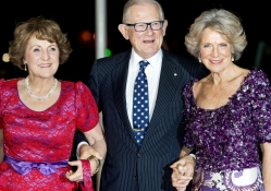 Princess Margriet, Meester Pieter van Vollenhoven and Princess Irene