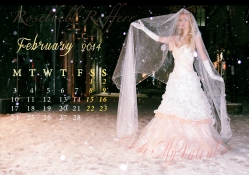 Roselbell Rafferr February Calendar