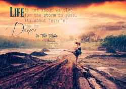 Life is not about waiting for the storm_Retro Vintage _By KarimGFX