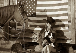 Cowgirl Patriot