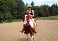July 4th Cowgirl