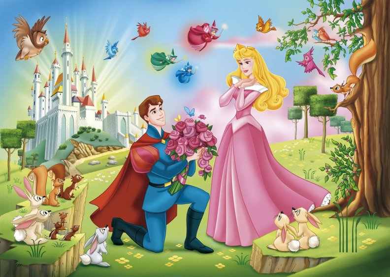 walt disneys sleeping beauty as an improvement over the grimm brothers briar rose