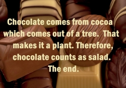 The truth about chocolate